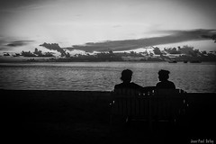 """Et si nous parlions?"" (JP Defay) Tags: life sea people blackandwhite mer white black monochrome noir noiretblanc lowkey extrieur vie blackwhitephotos"