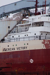 American Victory history (wisconsinrails) Tags: wisconsin boat superior americanvictory twinports americansteamship frreighter