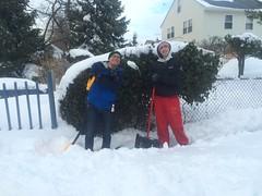 Snow Angels 2016 (hofstrauniversity) Tags: phi january fraternity delta 24 snowangels shovel theta 2016 hofstrauniversity