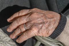 Elderly hand (esmccrory) Tags: old woman hand skin finger columbia ring diamond elderly wrinkles 500px ifttt