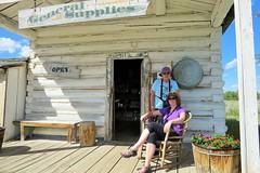 Pioneer Women (Patricia Henschen) Tags: store snakeriver wyoming grandtetons tetons grandtetonnationalpark menorsferry menorsferryhistoricdistrict