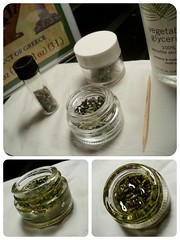 Lavender oil infusing (Junip3r b3rry) Tags: olive lavender oil glycerin kalamata infuse