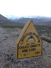 Ladakh - B.R.O (vcomot) Tags: mountains nature bike roads bro ladakh