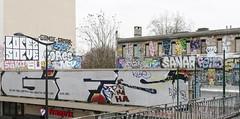 GFS - Solve - Lopez - Sores - Gomse * Femer - Sanar - Feito ... (Sbastien Casters) Tags: street streetart paris france art graffiti urbanexploration lopez sores urbain graffitis gfs solve feito femer sanar gomse