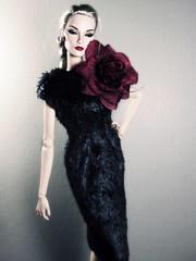 Rare Rose (Paris In BKK) Tags: nova toy doll elise ooak hobby fashiondoll fr integrity fineprint reroot dollportrait fashionroyalty collecitble nuneandto