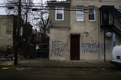Red Rum (phillytrax) Tags: city urban usa philadelphia america graffiti unitedstates pennsylvania pa metropolis philly tagging metropolitan northphiladelphia 215 northphilly cityofbrotherlylove sharswood