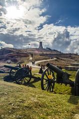 The cannons of Shipka Peak (Toni Terziev) Tags: mountain mountains monument landscape landscapes peak bulgaria shipka balkan 500px