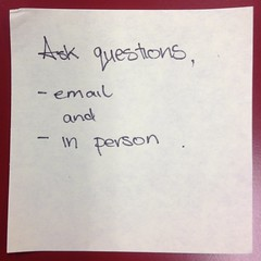 Ask questions (thompsoe) Tags: payitforward uniadvice advicefromstudents