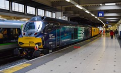 68004 London Euston (KLTP14) Tags: test train euston mentor eus drs networkrail directrailservices 68004 class68 1q18