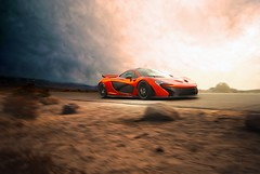 McLaren P1 | A Thousand Miles From Nowhere (Folk|Photography) Tags: auto orange cars car race speed desert dramatic fast automotive exotic mclaren commercial transportation isolation supercar p1 hypercard folkphotography gilfolk