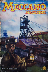 Meccano magazine Dec 1942, Welsh miners feature (Pitheadgear) Tags: southwales wales liverpool britain mining mines ww2 british welsh coal miner miners meccano worldwartwo coalminers coalmining collieries coalindustry powellduffryn