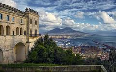 Naples (Fil.ippo) Tags: sky panorama cloud volcano cityscape napoli naples vesuvio filippo vomero certosadisanmartino d7000 filippobianchi