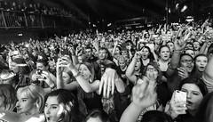 Sleeping With Sirens (Brian Krijgsman) Tags: blackandwhite bw music film monochrome amsterdam rock musicians photography concert nikon photos live grain band zwart wit melkweg 2016 nickmartin melodic posthardcore themax iso25600 d4s jackfowler briankrijgsman kellinquinn justinhills sleepingwithsirens gabebarham