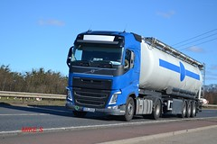 Volvo FH4 reg 6C9 2506 (erfmike51) Tags: lorry artic tanker euro6 volvofh4