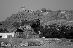 Gun's of Golconda 2 (Rajesh_India) Tags: fort indian historical guns hyderabad golconda telangana
