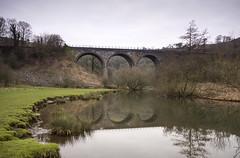 Headstone Viaduct (l4ts) Tags: longexposure reflections landscape derbyshire peakdistrict whitepeak riverwye monsaltrail monsaldale monsalhead headstoneviaduct britnatparks 10stopfilter