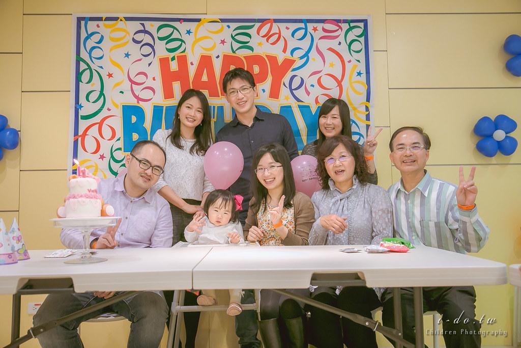 生日派對攝影 @ 台北 樂幼屋.彤彤.一歲.Birthday party photography