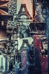 Paris Patchwork (Philippe Gillotte) Tags: paris tower collage eiffel patchwork