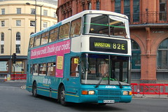 Arriva Volvo Olympian 3334 R334WVR - Liverpool (dwb transport photos) Tags: bus liverpool volvo palatine decker olympian 3334 northerncounties r334wvr arrivs