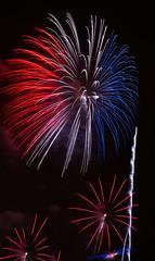 Fireworks (Fanita Rares Gabriel) Tags: street city travel light france streetlight colours power fireworks lightfall