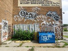(gordon gekkoh) Tags: graffiti detroit chub spot pack ja xtc skid ykk dms