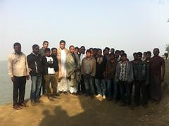 Sufi Faruq Ibne Abubakar with Team @ Koya, Kumarkhali, Kushtia