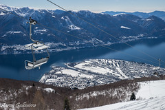 DSC09408 (aaron.galbusera) Tags: sky panorama lake snow nature lago schweiz tessin ticino natura cielo neve sole svizzera cimetta cardada locarnese