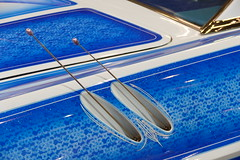 1964 Pontiac Grand Prix (bballchico) Tags: design paint grandprix pontiac custom 1964 bluemoon artmetal grandnationalroadstershow gnrs2016 waynedickey tridentsinc