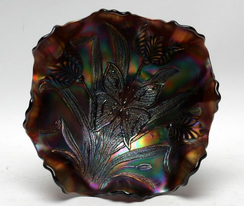 Dugan Butterfly & Tulip Footed Bowl  $660.00