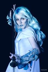 Kyrie  - DSC_3929-g1 (tony_redink2000) Tags: ice frost cosplay gimp australia melbourne frosty cos larp larping swordcraft frostgard