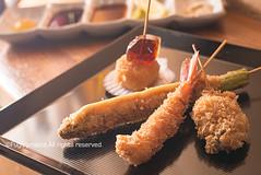 Deep-fried Skewers (Fuguproject200x) Tags: food skewers