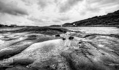 -The view- (Erik_Chavez) Tags: seascape skye water norway norge blackwhite seaside rocks view sony hdr roan waterscape visitnorway