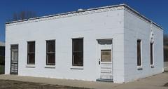 Old Bank (Riverdale, Nebraska) (courthouselover) Tags: nebraska ne banks riverdale buffalocounty