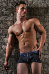 Nick Sandell (Violentz) Tags: portrait man male guy model body muscle muscular bodybuilder fitness physique patricklentzphotography