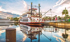 Old Lady Sits on the Dock (   (Thank you, my friends, Adam!) Tags: old art lens photography boat dock nikon gallery photographer florida fine central excellent dslr sanford   flickrs   flickrsbest