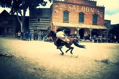 correeeee vaquero !!!! (L C L) Tags: horse caballo andaluca cowboy films movies desierto saloon almera vaquero farwest pelculas rodaje tabernas lcl desiertodetabernas ridingahorse fortbravo cabalgar loretocantero eloeste setderodaje