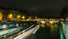 Vue du Pont Neuf (Vince Mako) Tags: paris canon long exposure sigma exposition 1750 pont neuf longue 60d