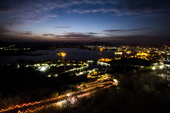 Udaipur nightscape (Cam_Buff) Tags: city longexposure nightphotography sunset india lake night way king nightscape indian palace rope hills rana karnimata pratap rajasthan udaipur hillstation singh pichola jagmandir marwar aravalli incredibleindia mewar indianfolklore picchola