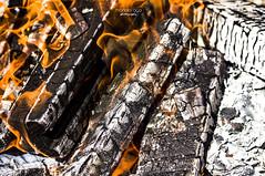 there is no smoke without fire (mariola aga) Tags: wood macro closeup smoke flames bonfire thegalaxy