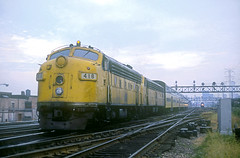 C&NW F7 418 (Chuck Zeiler) Tags: railroad train locomotive chz f7 418 emd cnw