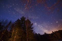 Voie lacte en avril. (CloudPhotoz) Tags: sky canada night way stars shot quebec lac ciel milky nuit voie toiles prise lacte ducerf