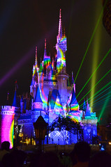 Tokyo Disneyland (when I'm on vacation) Tags: show light castle japan night tokyo disneyland disney wishes