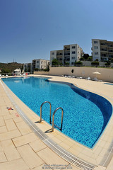Swimming pool (Ed.ward) Tags: holiday pool turkey apartment flat swimmingpool olivetree 2015 sunbeds bodrumpeninsula theolivetree patsapartment nikond700 nikonaffisheyenikkor16mmf28d gullluk
