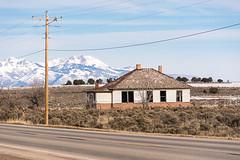 Abandoned Utah House (nikons4me) Tags: old house abandoned utah ut bluemountains hwy191 abajomountains nikonafsdx18200mmf3556gifedvr nikond7100