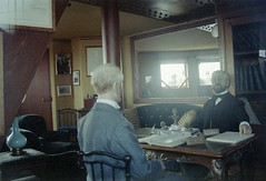 Eiffel meets Edison (Ron's travel site) Tags: paris france 35mm europe dummies eiffeltower om10 toureiffel filmcamera edison olympusom10 gustaveeiffel circa1983 flickrandroidapp:filter=none ronstravelsite wwwronsspotuk