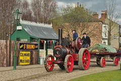 Robey No. 33957 'Village Queen' (Ben Matthews1992) Tags: old tractor museum vintage compound transport traction engine historic steam beamish vehicle preserved trailer cobbles 1915 preservation colmans haulage 2016 robey 33957 6ton 4nhp villagequeen fe1620 beamish2016 carriemore greatwarsteamfair