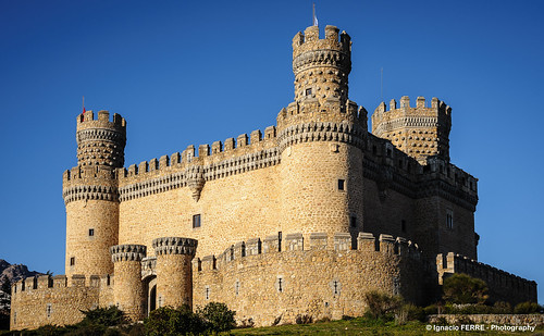 Manzanares el Real castle (Madrid, Spain)