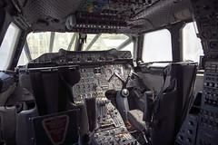 Flight deck of Concorde G-BOAD, March 2016 (Rochdale 235) Tags: nyc usa newyork america airplane manhattan cockpit aeroplane concorde britishairways flightdeck airliner supersonic gboad