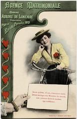 Agence Matrimoniale - Jeune cycliste 18 ans (letterlust) Tags: bike bicycle rad bicicleta nancy cycle bici velo fahrrad vlo fiets velocipede bicicletta partnervermittlung vlocipde rijwiel bicyclehistory veloziped datingagency letterlust agencematrimonial relatiebemiddelingsbureau agenciadecitas