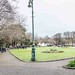 MERRION SQUARE PARK FEATURES A COLLECTION OF OLD LAMP STANDARDS [THERE ARE SUPPOSED TO BE 25]-112828